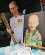 Dean Gough - Olympic Torch Bearer