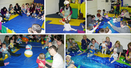 Helter Skelter Baby Sensory Day in aid of The Alfie gough Trust