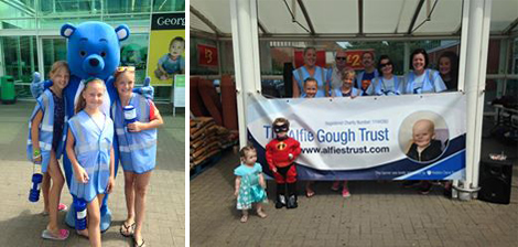 Alfie Gough Trust Supermarket Singalong