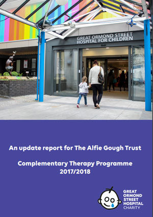 Alfie Gough Trust Complimentary Therapy Update Report 2017